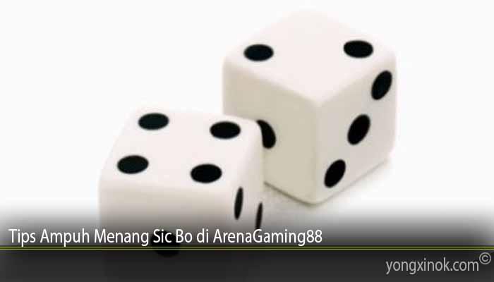 Tips Ampuh Menang Sic Bo di ArenaGaming88